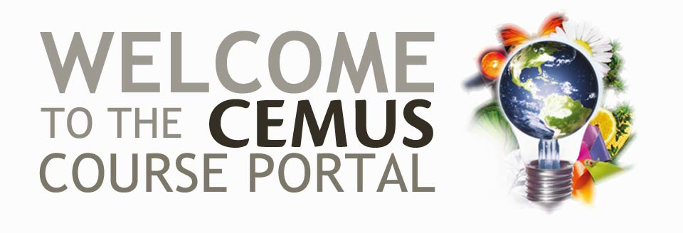 Welcome to the course portal